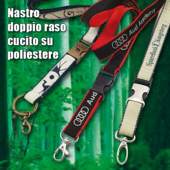 Lanyards Poly con Satin