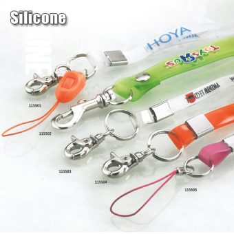 Lanyards in silicone